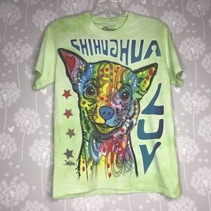 The Mountain T-Shirt Size Small Chihuahua Luv